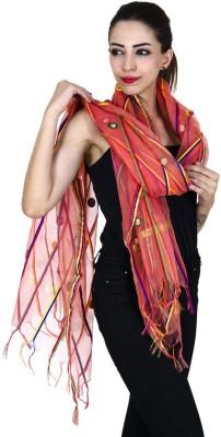 Ooltah Chashma Tussar Silk Embellished Women's Dupatta