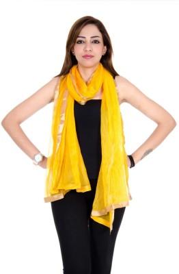 Ooltah Chashma Shimmer Solid Women's Dupatta