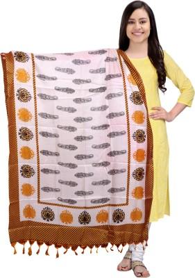Vishwakarma Choice Tussar Silk Printed Women's Dupatta