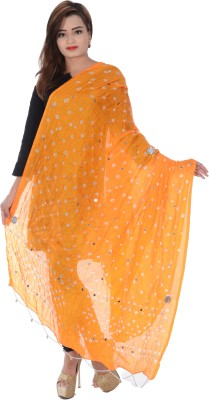 Apratim Art Silk Embroidered Women's Dupatta