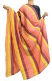GiftPiper Tussar Silk Printed Women's Du...