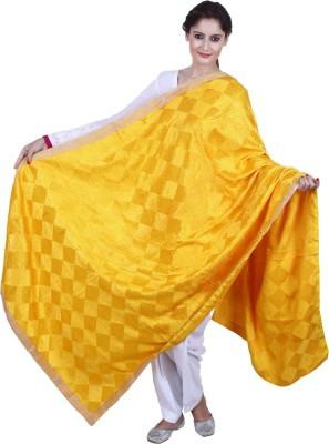 MadeinMyIndia Silk Cotton Blend Embroidered Women's Dupatta