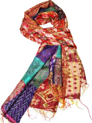 East Trends Pure Silk Embroidered Women's Dupatta
