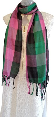 Skhoza Viscose Checkered Women's Dupatta