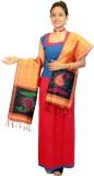 Slice Of Bengal Pure Silk Printed Women'...