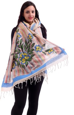 Inara Robes Khadi Floral Print Women's Dupatta