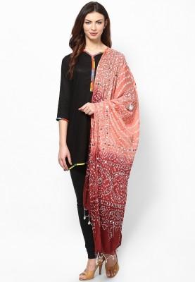 Ruhaans Cotton Self Design Womens Dupatta