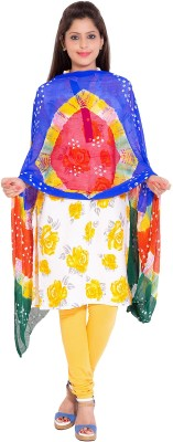 Veera Designers Pure Chiffon Printed Women's Dupatta