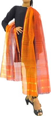 GiftPiper Silk Cotton Blend Woven Women's Dupatta