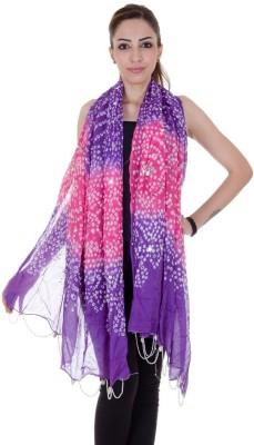 Ooltah Chashma Cotton Self Design Women's Dupatta