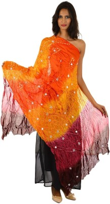 Fashiana Art Silk Self Design Women's Dupatta