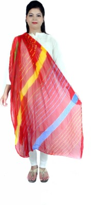 Apratim Faux Chiffon Striped Women,s Dupatta