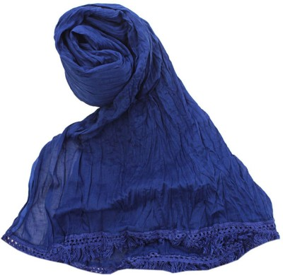 V Brown Kids Dupatta(Blue)