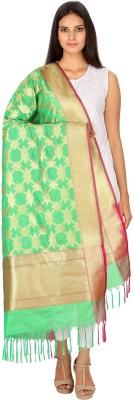 Loom Legacy Silk Cotton Blend Woven Women's Dupatta at flipkart