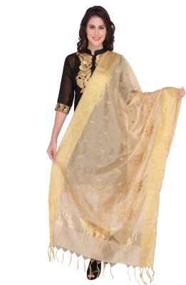 Dupatta Bazaar Silk Cotton Blend Embroidered Women's Dupatta