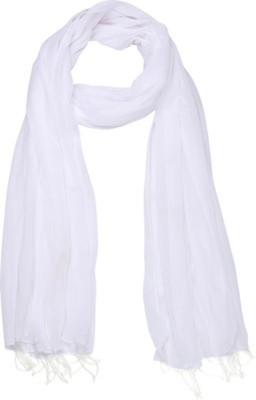 Aarushi Fashion Faux Chiffon Solid Women's Dupatta at flipkart