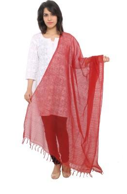 Ecostyle Cotton Checkered Women's Dupatta