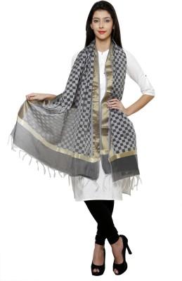 Uniscarf Art Silk Checkered Women's Dupatta