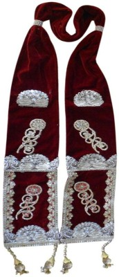 Kalra Creations Velvet Embroidered Men's Dupatta