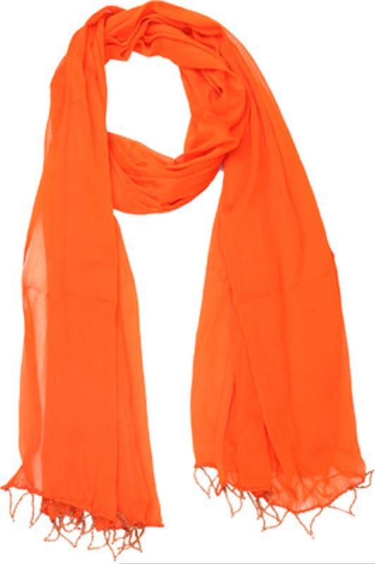 Aarushi Fashion Faux Chiffon Solid Women's Dupatta
