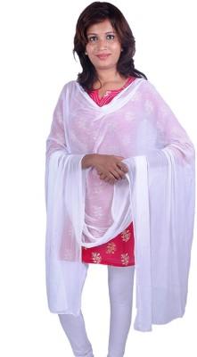 Womens Trendz Pure Chiffon Solid Women's Dupatta