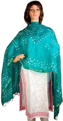 Craftghar Dupion Silk Printed Women's Dupatta