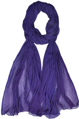 V Brown Kids Dupatta(Purple)