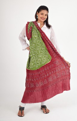 Ethnicshack Cotton Self Design Women's Dupatta