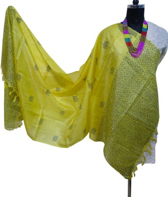 Toygully Pure Silk Printed Women's Dupatta