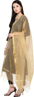 DUPATTA BAZAAR Art Silk Checkered Women's Dupatta