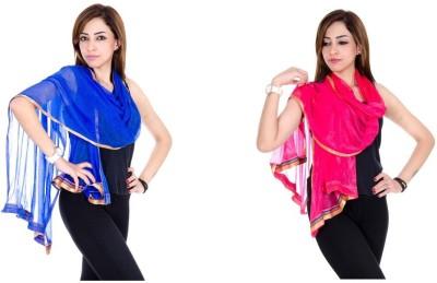 Rangsthali Shimmer Solid Women's Dupatta