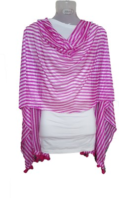 Skhoza Shimmer Striped Girls Dupatta