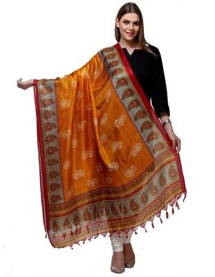 Varanga Art Silk Printed Women,s Dupatta