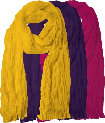 Chatri Fashions Cotton Solid Women's Dupatta at flipkart