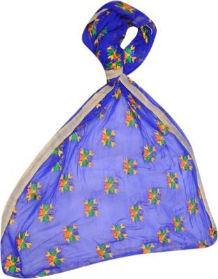 AMAZEFAB Net Embroidered Women's Dupatta