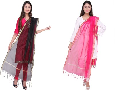Dupatta Bazaar Art Silk Solid Women's Dupatta