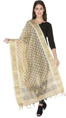 Dupatta Bazaar Tussar Silk Printed Women's Dupatta