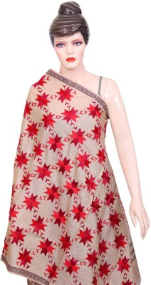 Navrang Colours of India Pure Silk Embroidered Women,s Dupatta