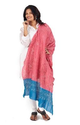 EthnicShack Chanderi Self Design Women's Dupatta