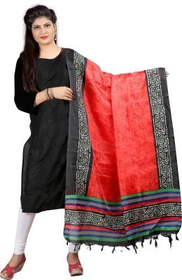 Nityagata Pure Silk Self Design Women's Dupatta