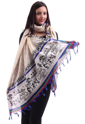 Inara Robes Art Silk Geometric Print Women's Dupatta