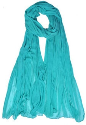 Color Fall Faux Chiffon Solid Women's Dupatta