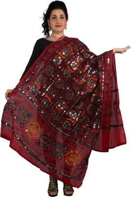 Nirguna Cotton Embroidered Women's Dupatta