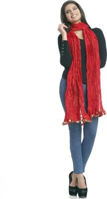 Aapno Rajasthan Raw Silk Solid Women's Dupatta