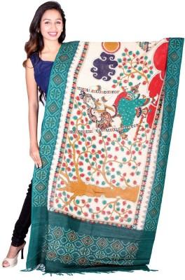 MasterweaverIndia Cotton Woven Women's Dupatta