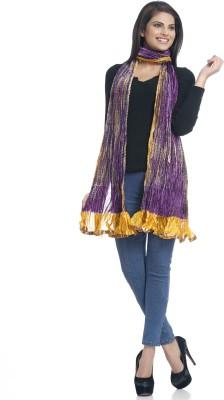 Aapno Rajasthan Raw Silk Self Design Women's Dupatta at flipkart
