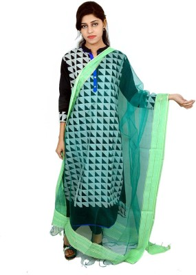 Tussar Shell Art Silk Solid Women's Dupatta