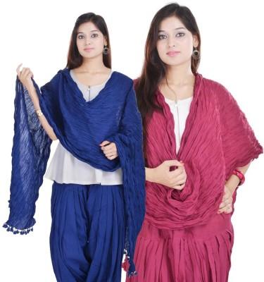 Kalrav Cotton Solid Women's Dupatta