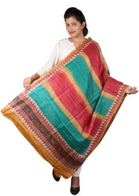 Kaarubaki Tussar Silk Printed Women's Dupatta