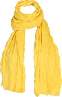 Estyle Synthetic Chiffon Solid Women's Dupatta at flipkart